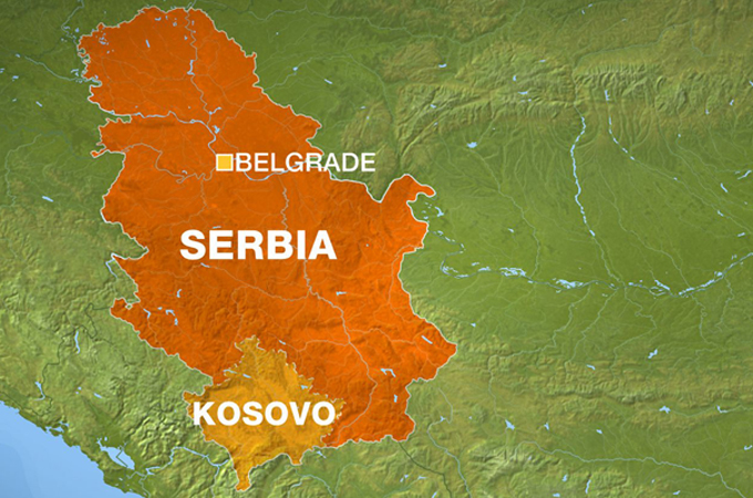 Serbian troops on 'combat alert' after arrests by Kosovo
