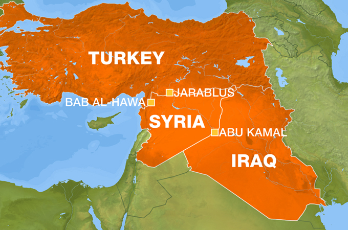 Turkey is now set on invading syria soon we will see syria can anyone deny that erdogan and obama are setting policies in their nations that is preparing all this by reversing sykes picot and by supporting the arab gumiabroncs Choice Image