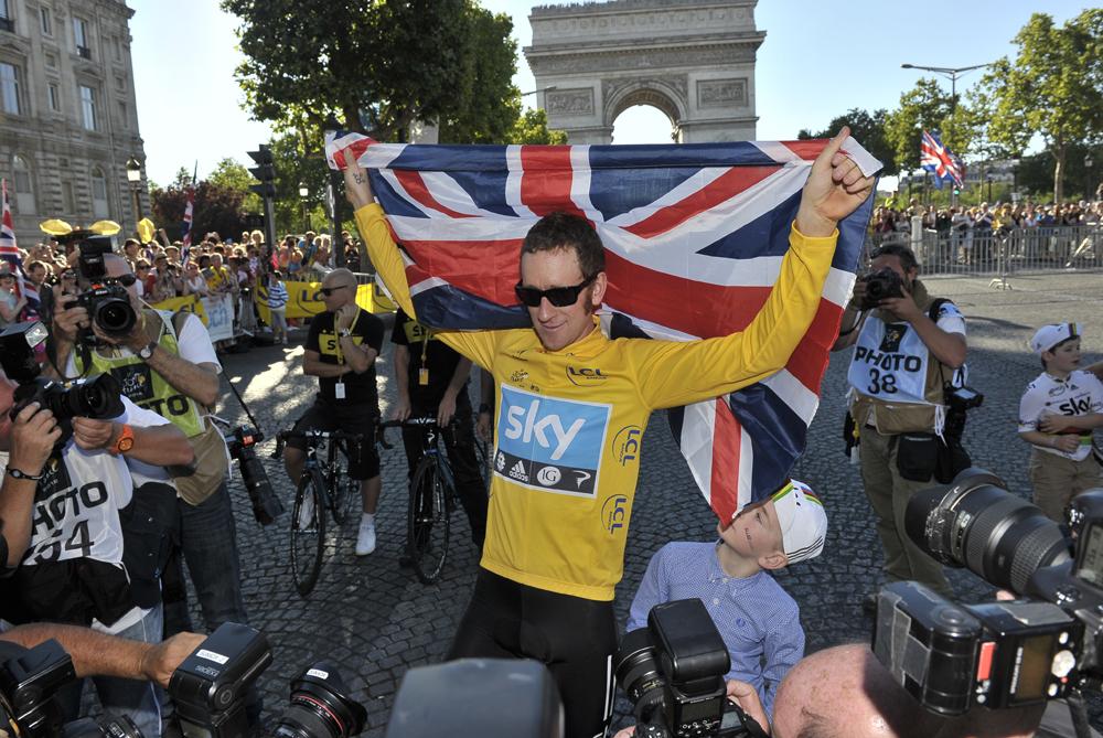 It has been a vintage year for Britain(***)s Bradley Wiggins who became the first Briton to win the Tour de France. Wiggins has been in form all year claiming victories in the Paris-Nice, Tour de Romandie and Dauphine races [EPA]