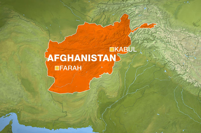 Pentagon hails Afghan forces for the response to Farah city attack