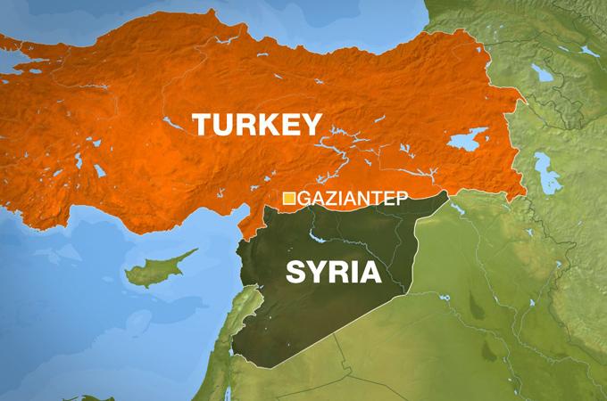 Police kill attacker in Turkey's Gaziantep