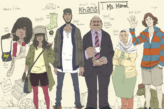 It's pretty cool that Marvel Comics debuted a female Muslim superhero. Amirite? Yay diversity.