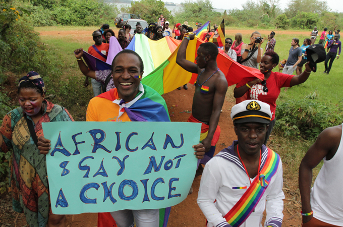 Ugandans against homosexuality