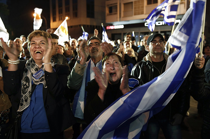 Conservative leader wins Cyprus presidency