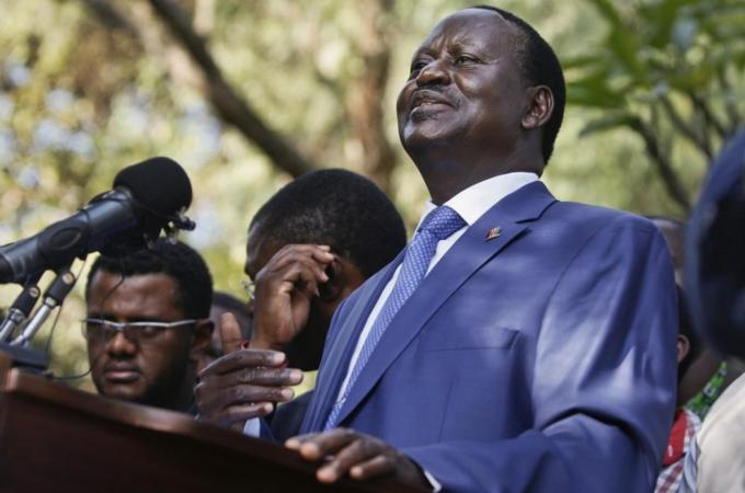 Raila Odinga tells Al Jazeera he will not participate in elections next year if electoral commission is not overhauled.