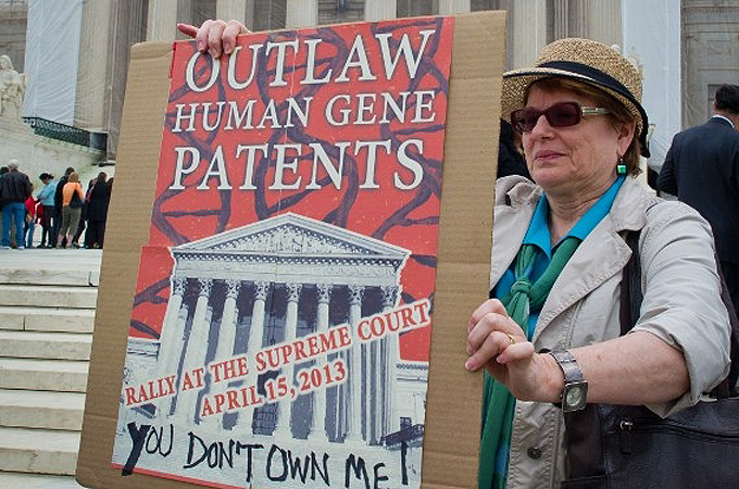 gene patent Can genes be patented a gene patent is the exclusive rights to a specific sequence of dna (a gene) given by a government to the individual, organization, or corporation who claims to have first identified.