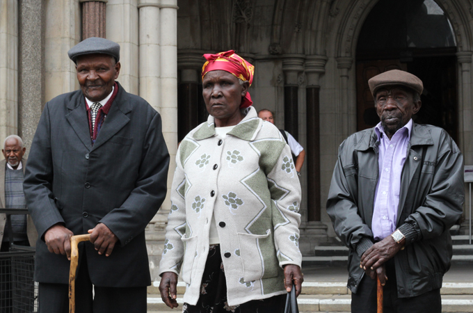 We follow the journey of Kenyans seeking justice for Britain's role in the torture during the 1950s Mau Mau uprising.