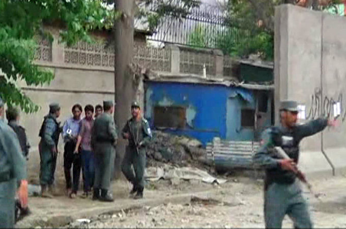 Taliban attack 'UN compound' in Afghanistan