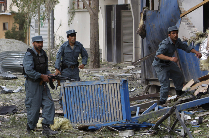 Taliban launches attack in Kabul