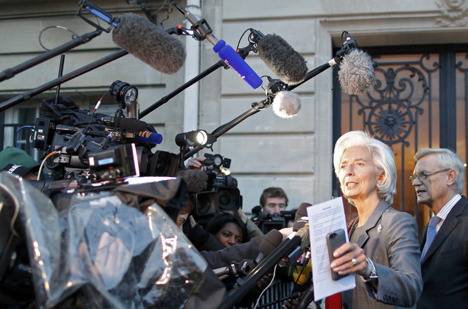 IMF chief escapes formal probe in payout case