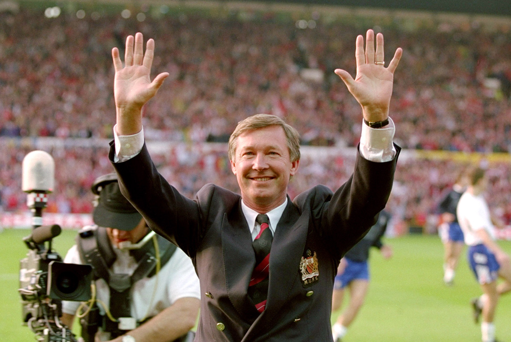 <p>Appointed as Manchester United manager in 1986, Alex Ferguson did not claim his first top flight title until 1993. It ended the club(***)s 26-year wait and ensured United were the first team to win the Premier League - which had just begun [GALLO/GETTY] </p>