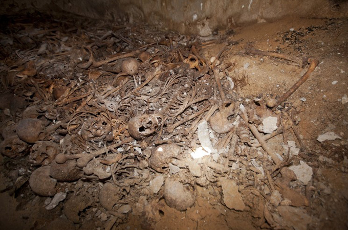 Mass Palestinian grave found in Tel Aviv
