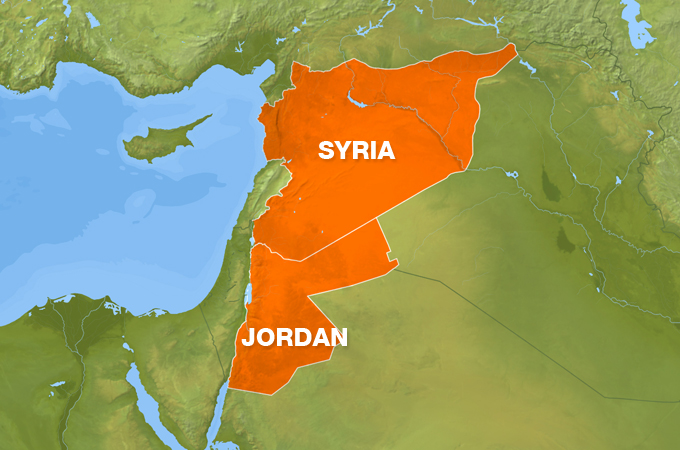Syrian army gains ground on Jordan border in southwest