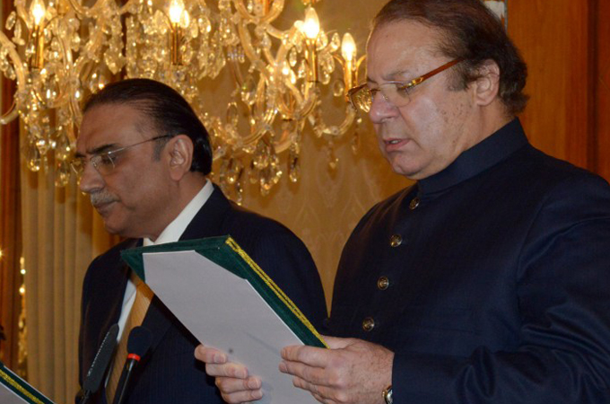 Pakistan's PM calls for end to drone strikes