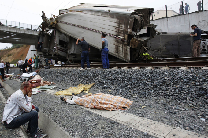 Spain Train Crash Driver Held In Custody News Al Jazeera