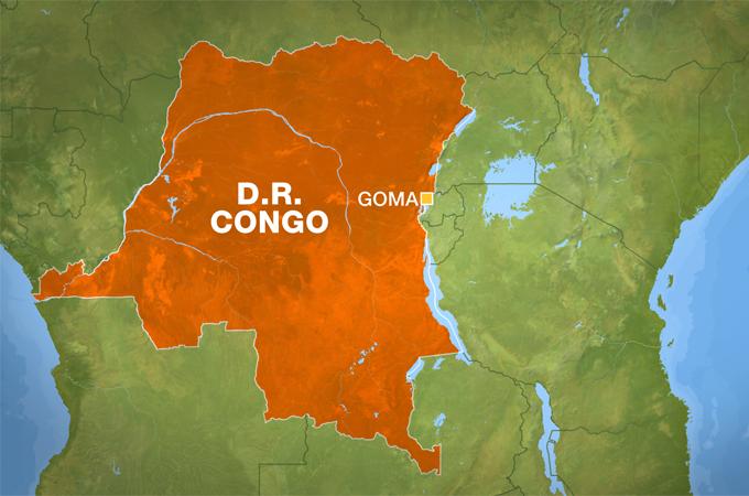Goma map