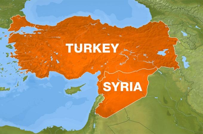 Risultati immagini per TURKEY SYRIA