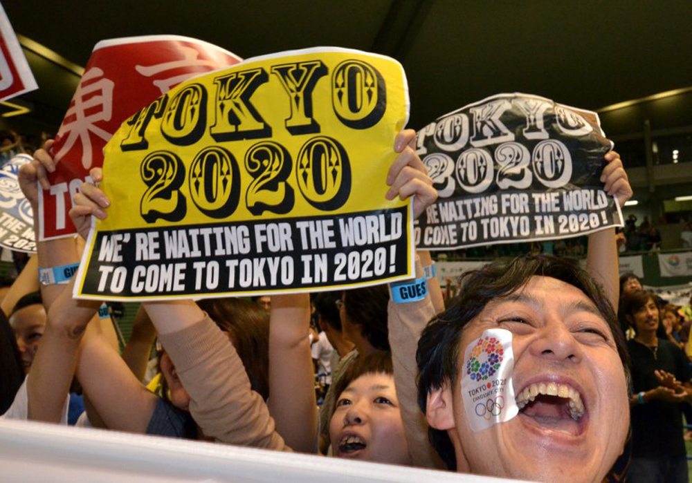 Overcoming fears about the stricken Fukushima nuclear plant, the Japanese capital Tokyo charmed the IOC committee to land the 2020 edition of the Olympic Games [AFP]