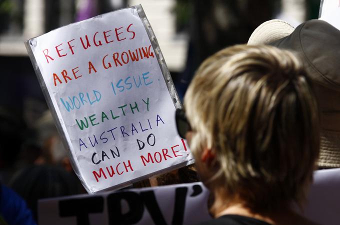 Australia's asylum-seeker policies challenged