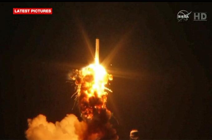 nasa rocket explodes on launch - photo #26