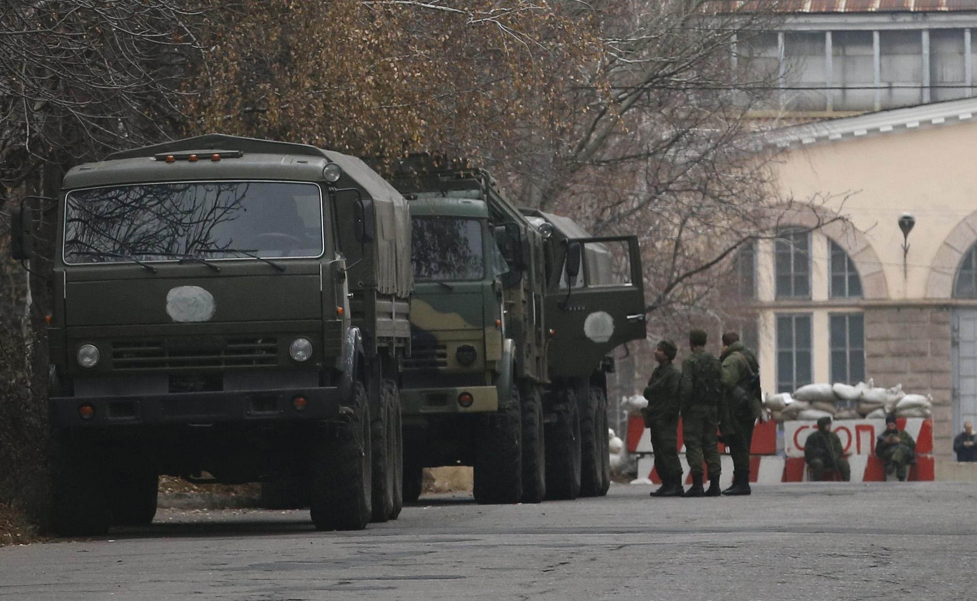 Russia has consistently denied it has any military presence in Ukraine