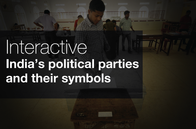Indias Political Parties And Their Symbols Al Jazeera