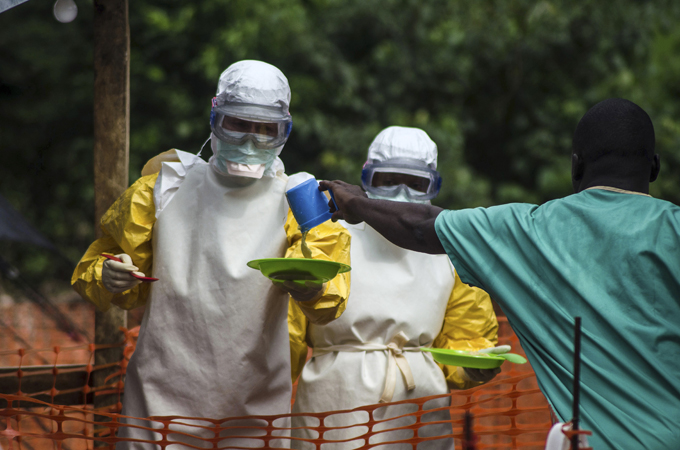 Ebola cases could reach 1.4m next year