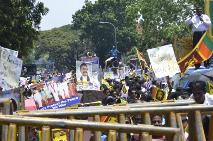Sri Lanka accused of trying to gag NGOs