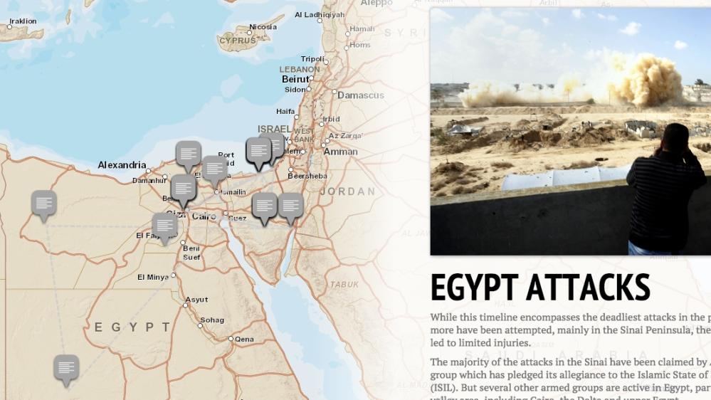 Major Attacks in Egypt     Al Jazeera