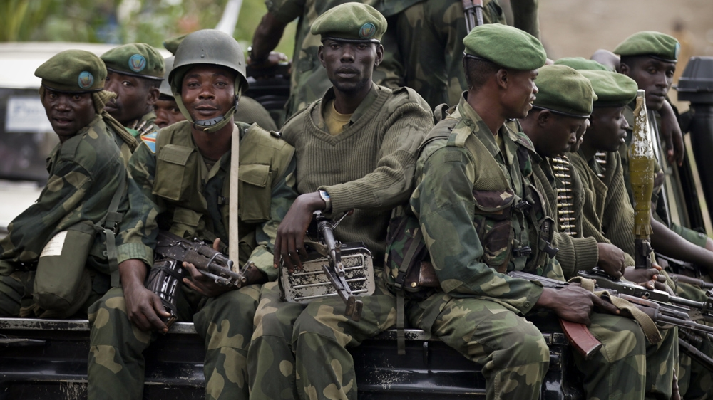At least twenty, including ten soldiers, killed in central DR Congo as security forces clashed with armed fighters.