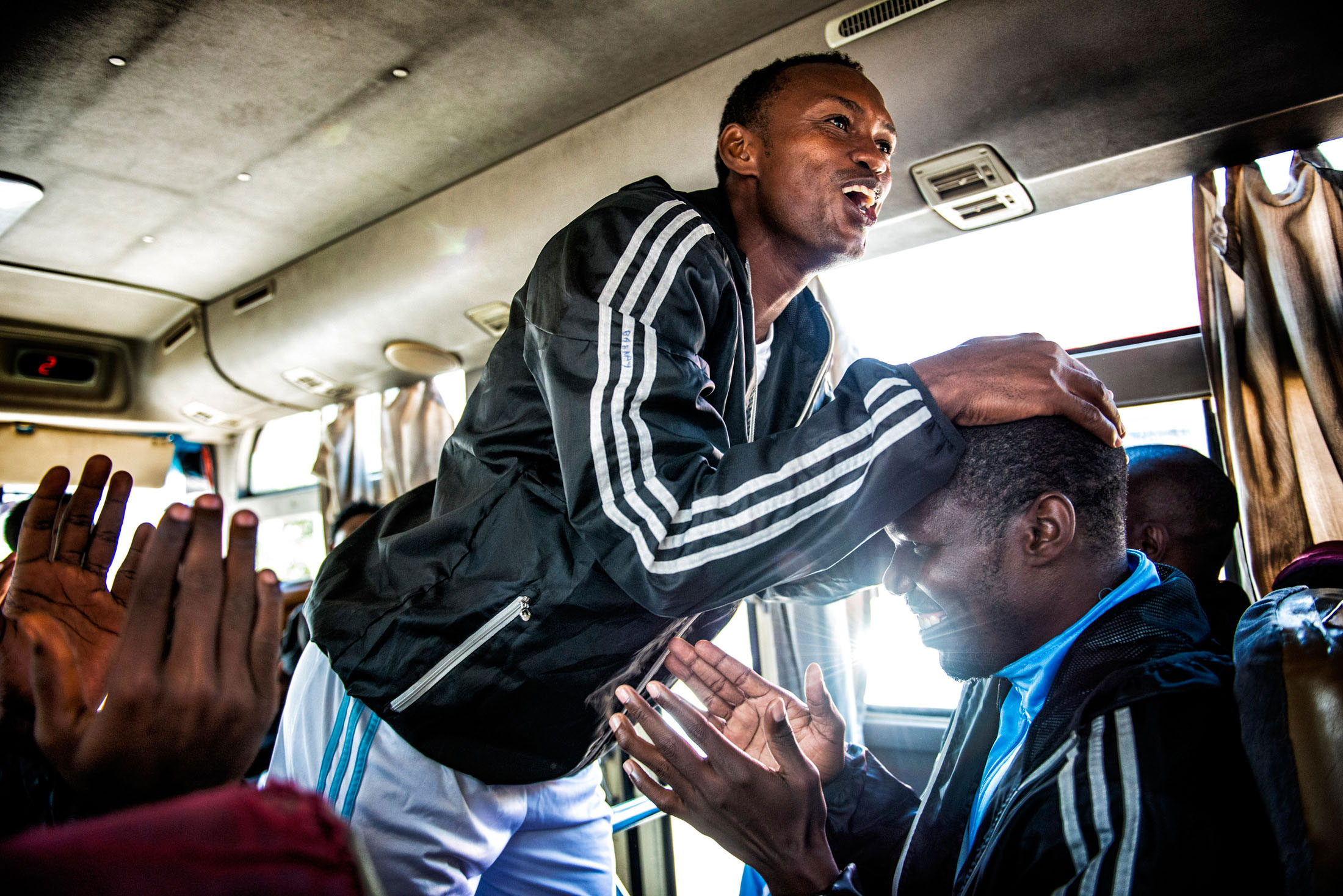 Due to lack of sponsors, there's not much money in Somali football, most Somali players receive low salaries and need to have a job next to their professional football career to sustain their families.[Jeroen van Loon/Al Jazeera]
