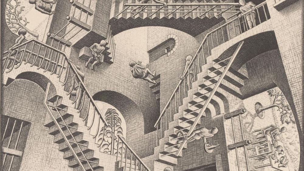 Escher 39 s graphic artwork to be displayed in uk al jazeera for Mc escher gallery