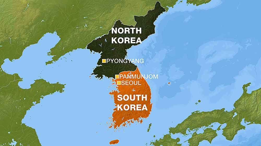 Us strike group heads towards korean peninsula north korea news expert satellite imagery analysis suggests it could well be preparing for a sixth with us intelligence officials warning that north korea could be less gumiabroncs Images