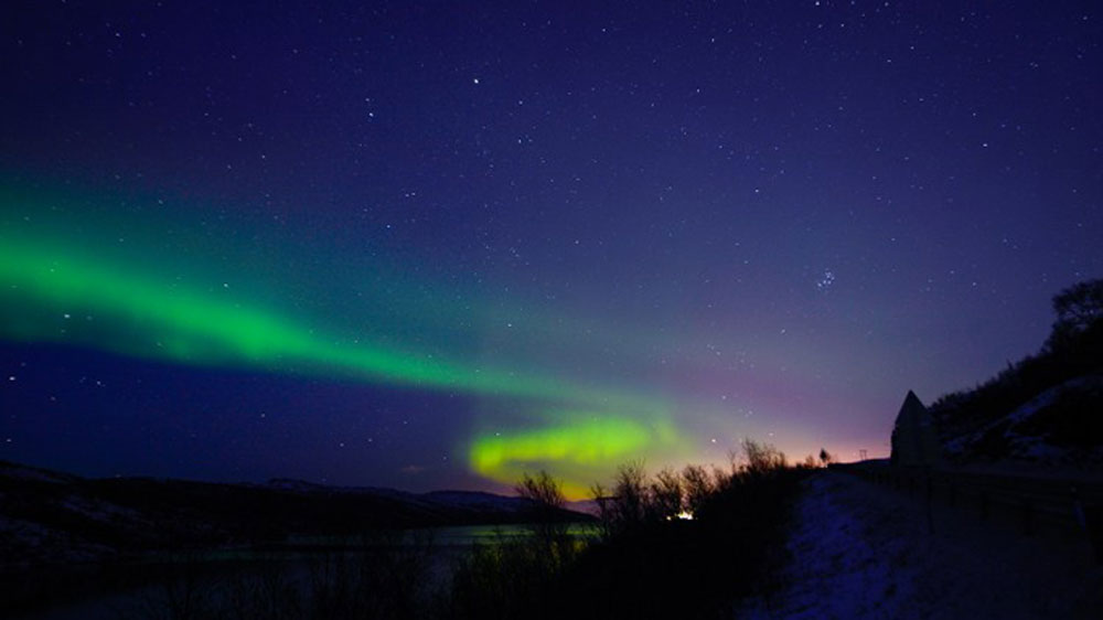 Northern Norway has been treated to a spectacular display of the Northern Lights. [Jonathan Nackstrand/AFP]