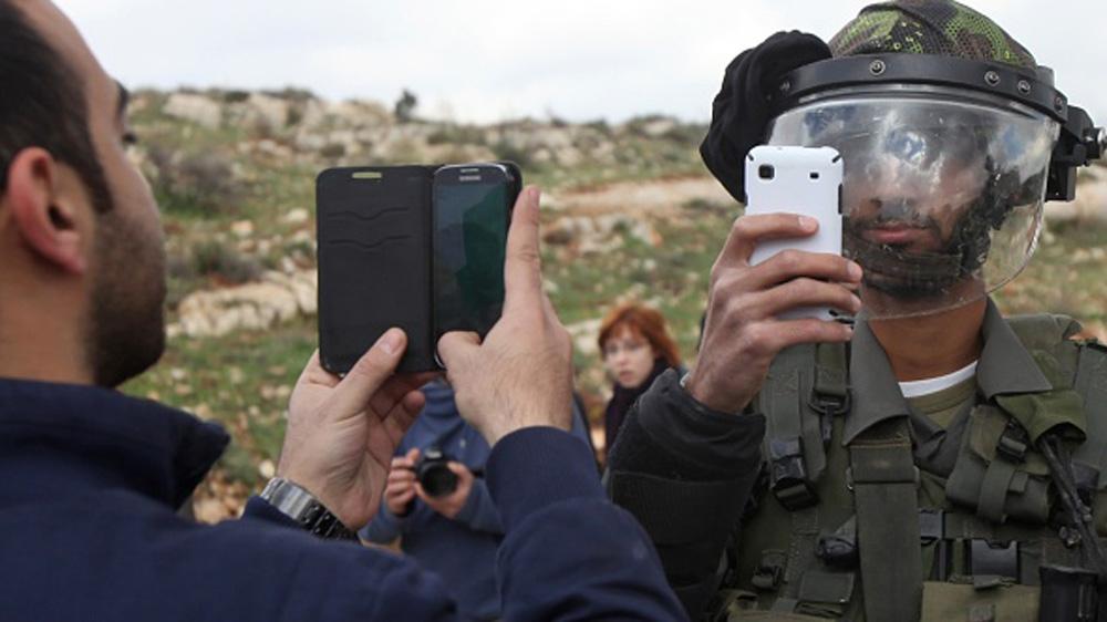 Cellular phones in gaza strip