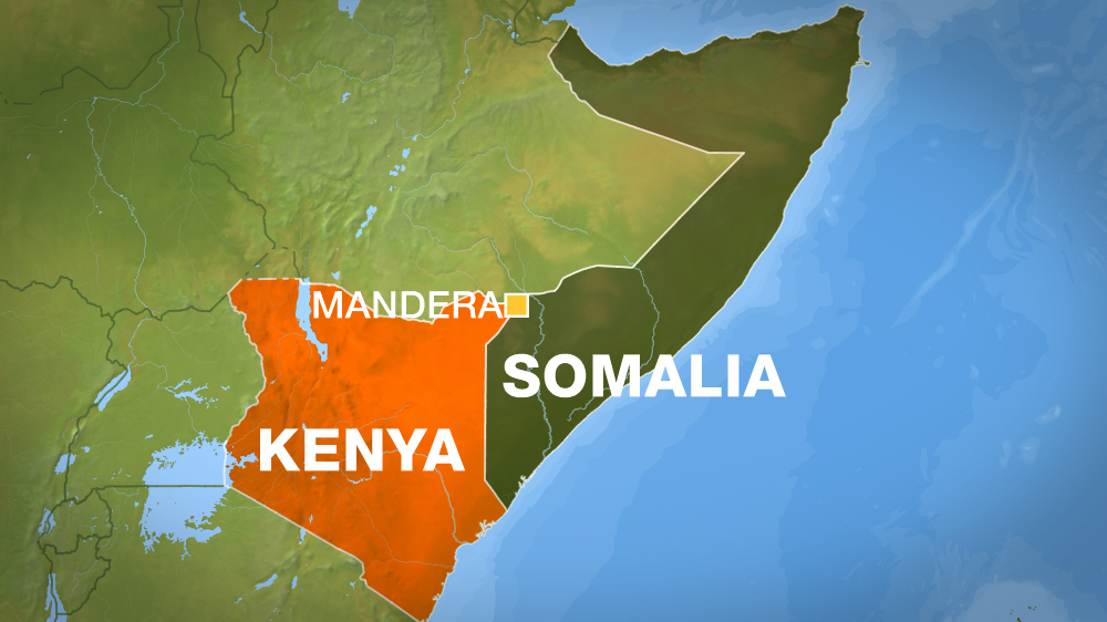 At least six people have died after the shooting in Mandera, near Kenya's border with Somalia.