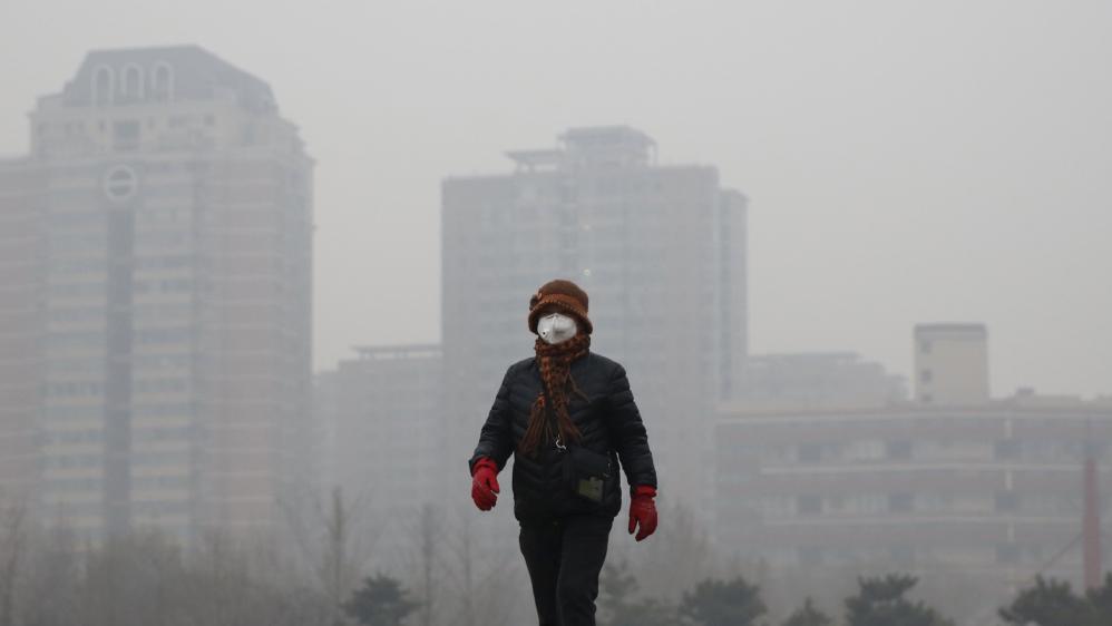 Beijing red alert for smog prompts partial shutdown al jazeera
