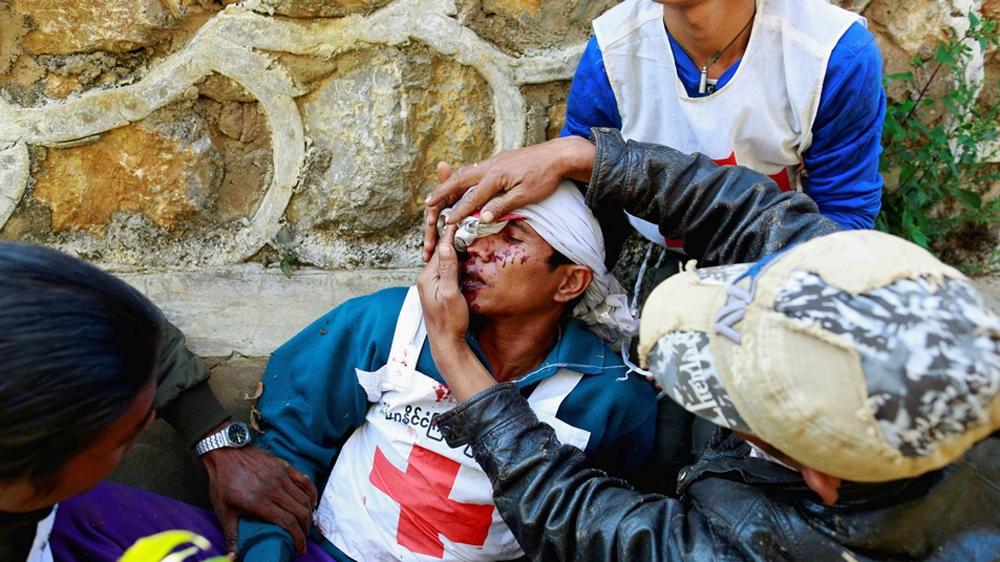 Myanmar declares state of emergency in war torn region news al myanmar declares state of emergency in war torn region news al jazeera thecheapjerseys Images