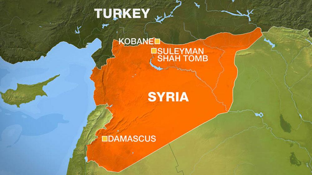 Syria Turkish Incursion Is Flagrant Aggression News Al Jazeera - Where is syria and turkey