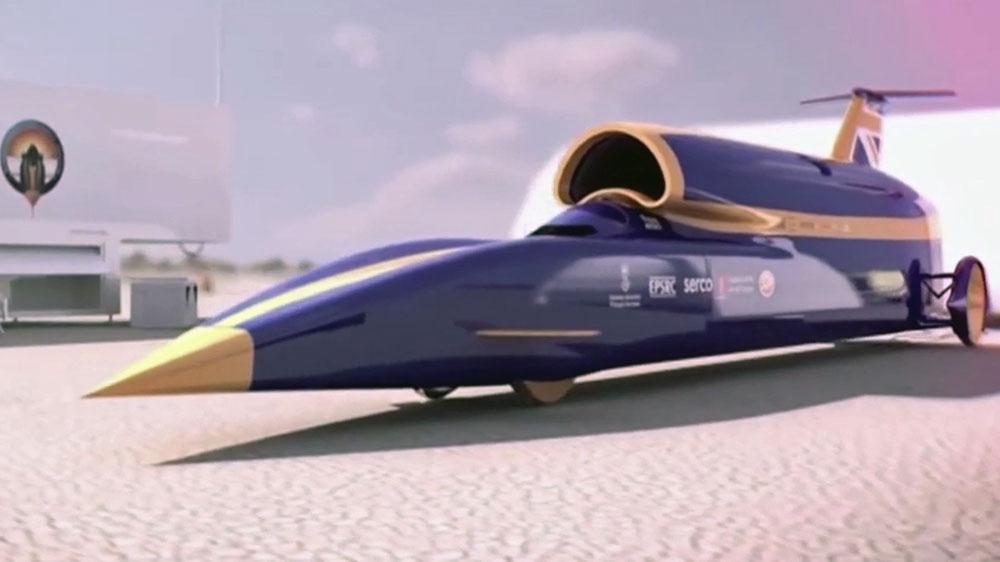 Land Speed Record >> Uk S Bloodhound Designed To Break Land Speed Record Uk News Al