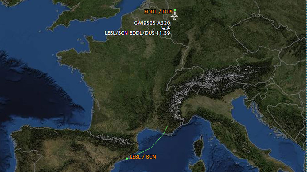 No Survivors From German Airliner Crash In French Alps Germany - Mountainous aircraft accidents map us