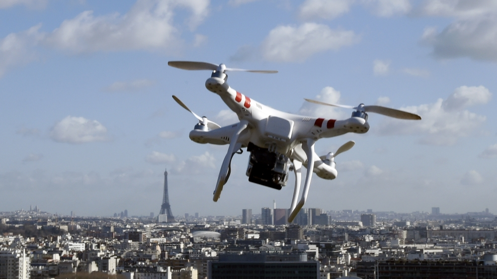 french police continue hunt for mystery paris drones news al jazeera. Black Bedroom Furniture Sets. Home Design Ideas