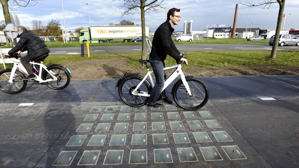 Dutch Solar Road Makes Enough Energy To Power Household