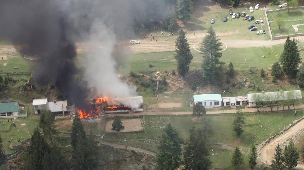 Taliban Pakistan Helicopter Taliban Downed Pakistan