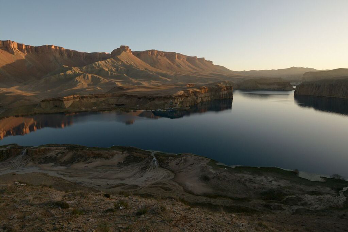 With its pristine lakes and limestone cliffs, Band-e-Amir gained national park status in 2009, making it Afghanistan's first national park. [Leslie Knott/Al Jazeera]
