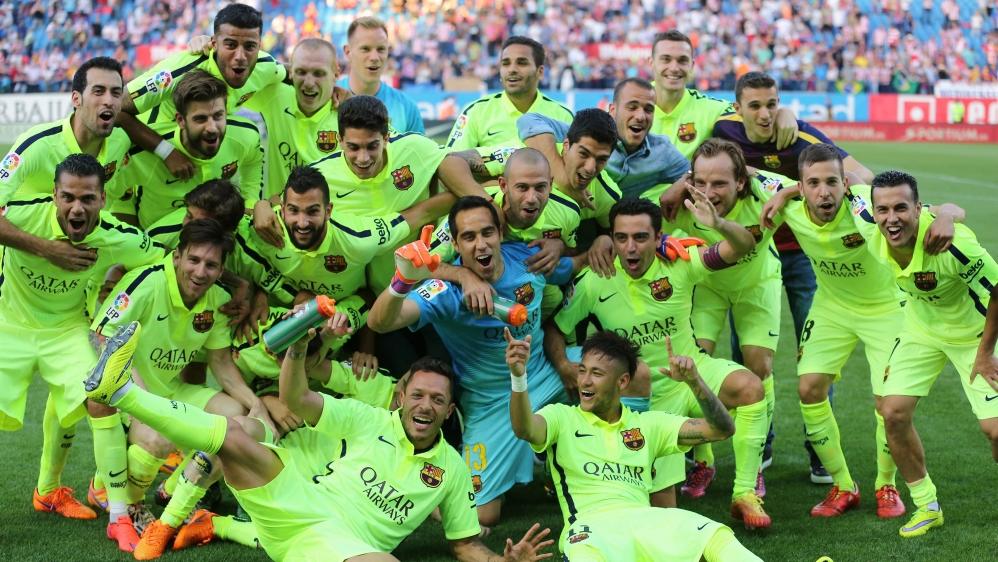 Liga Champion: Barcelona Crowned La Liga Champions