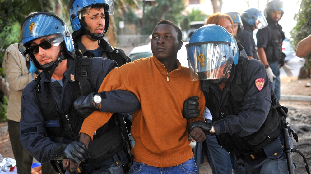 Image result for italian migrants in italy