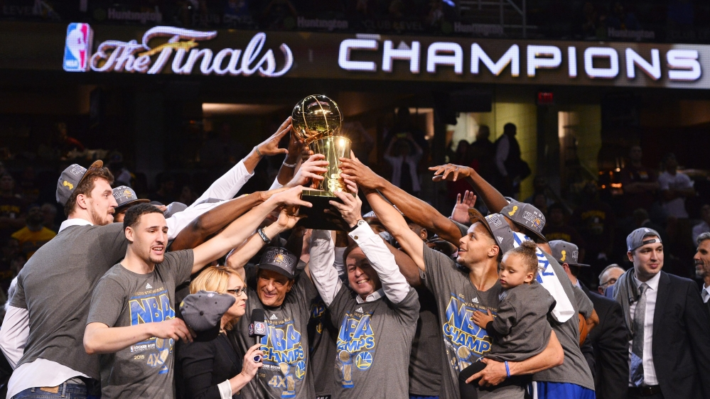 Nya produkter bästa stället ny design Golden State crowned NBA champions after 40 years | News | Al Jazeera