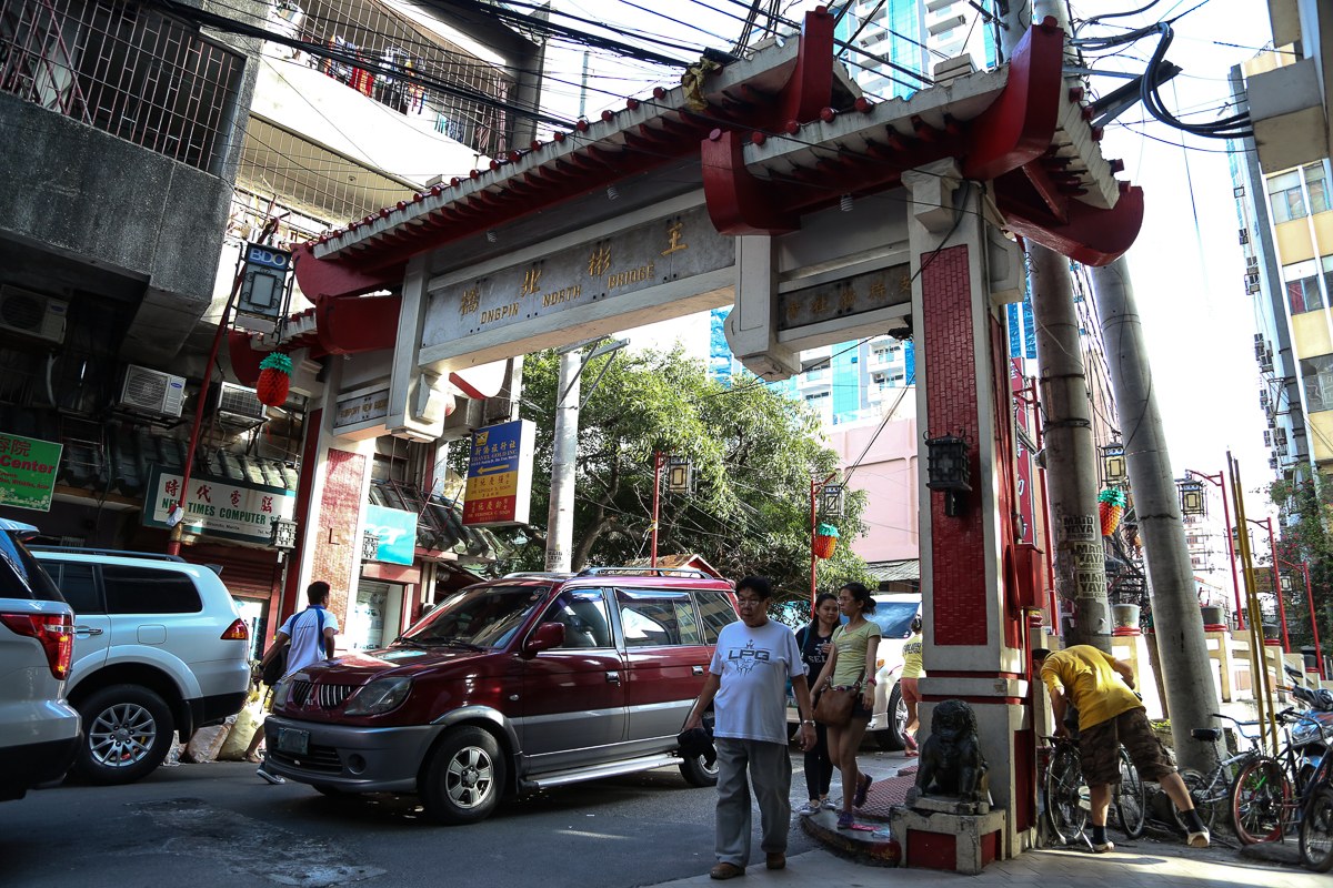 The world's first Chinatown was established in the Binondo district of the Philippine capital Manila in 1594 [Ted Regencia/Al Jazeera]