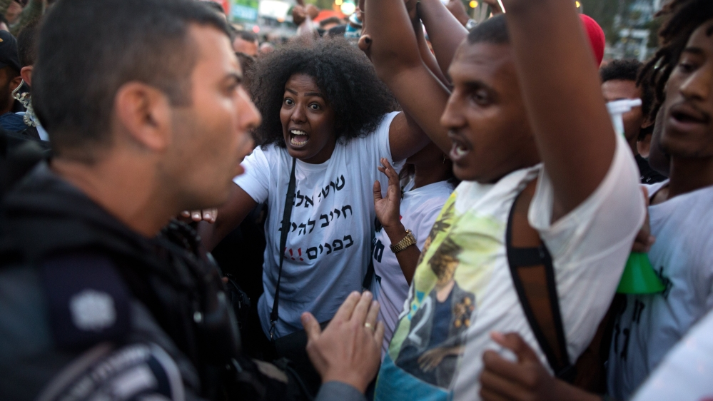ethiopian jews arrested at rally over racism in israel